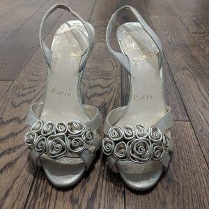 Christian Louboutin Champagne sandals 35,5 EU